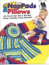 Annie's NapPads & Pillows Crochet Pattern - $3.99