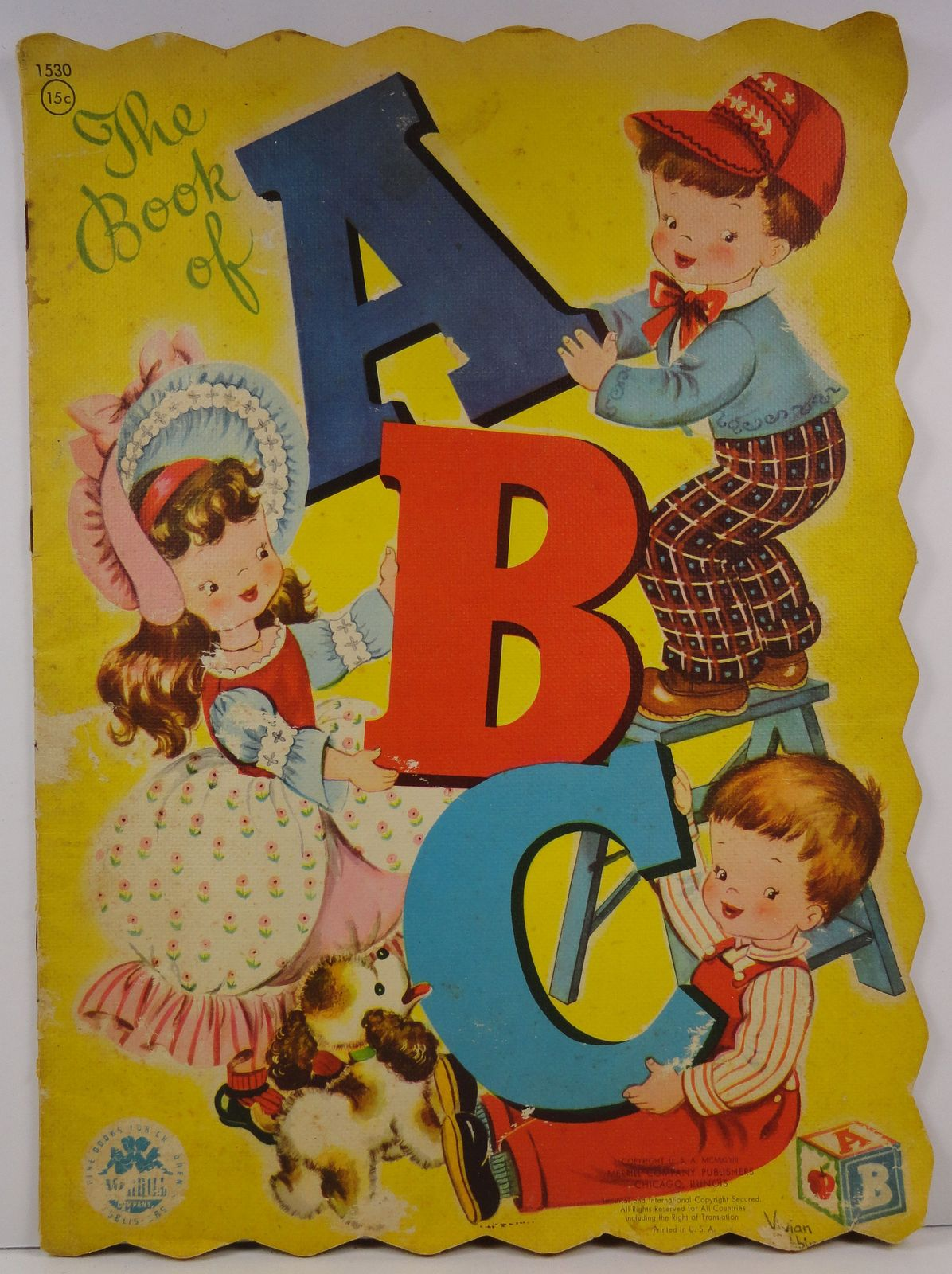 The Book of ABC Vivian Robbins Merrill Book No. 1530