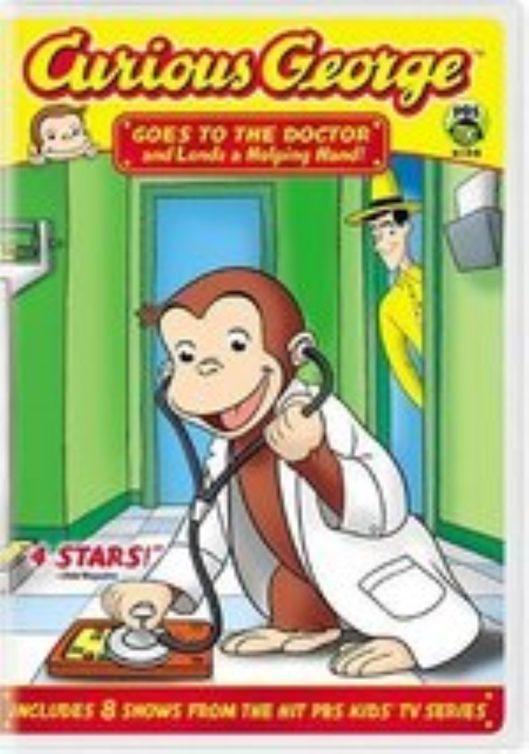 Curious George: Goes to the Doctor and Lends a Helping Hand Dvd