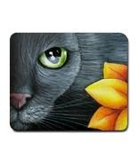 Mousepad from original Art painting Cat 507 - $15.99