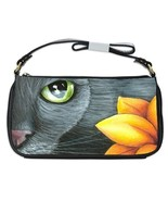 Shoulder Clutch Bag Purse from art painting Cat... - $26.99