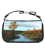 Shoulder Clutch Bag Purse painting Landscape 14... - $26.99