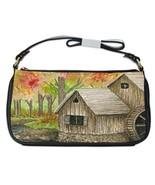 Shoulder Clutch Bag Purse painting Landscape 176 - $26.99