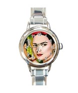 Italian Charm Watch  from painting Frida Kahlo 12 art - $15.99