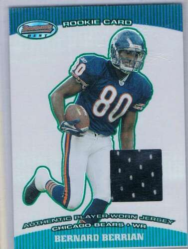 Primary image for 2004 Bowman's Best Green #101 Bernard Berrian