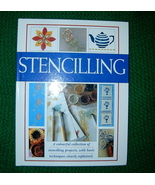 Stencilling Creative Crafts Simple Basic Instructions - $5.00