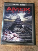 Amok Train (DVD, Shriekshow Classics, 1989) BRAND NEW / FACTORY SEALED - $5.97