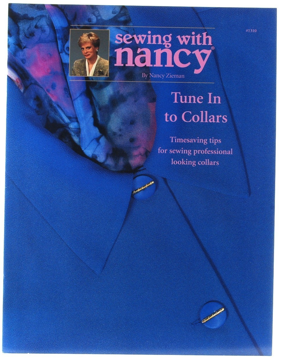 Primary image for Sewing with Nancy Zieman #1310 Tune In to Collars Sewing Clothing Tailoring