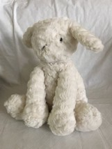 "Jellycat Lamb Sheep Fuddlewuddle Plush Animal 9"" Cream Excellent Soft EUC - $19.79"