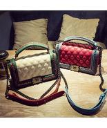 Lady Shoulder Crossbody Bag PU Leather Women Designer Messenger Bags Lux... - $31.61