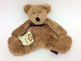 """Boyds FLat Bear Teddy Brown Tags Plush Stuffed Animal 8"""" - $22.18"""