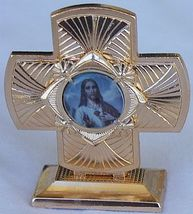 Mini Cross statue A  - $12.00