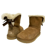 UGG 1016501 women's mini Bayley boots shearling boot camel size US 9 - $66.22