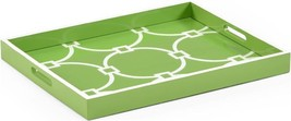 Tray CHELSEA HOUSE Apple Green New Hand-Painted Painted - $169.00