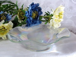 Iridescent Glass Candy Dish - $6.00