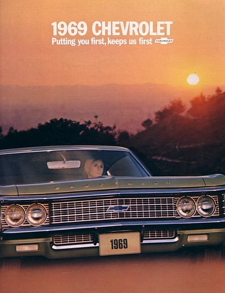 Primary image for 1969 Chevrolet CAPRICE BEL AIR IMPALA brochure catalog Chevy