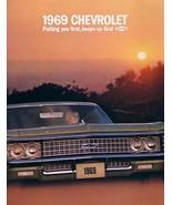 1969 Chevrolet CAPRICE BEL AIR IMPALA brochure catalog Chevy - $8.00