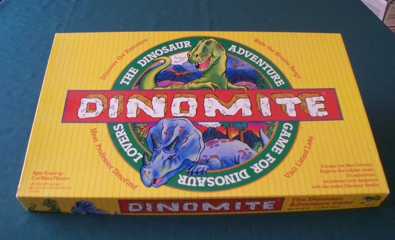 Primary image for Dinomite By University Games 1988 Complete VGC