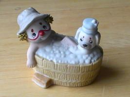 1987 Enesco Li'l Vagabond in Tub Figurine  - $12.00