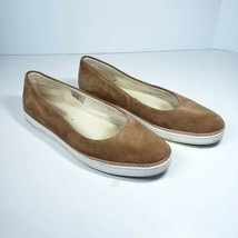 UGG W Kammi Flat Shoes Size 9.5 Pure Wool Chestnut Brown 1013049 - $69.99