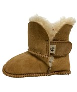 Bearpaw baby winter boots chestnut sheep skin brow size L 12-18 months - $18.15