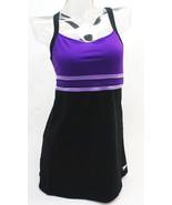 Speedo Purple Horizon Splice Swimdress Swimsuit Women's 12 - $64.35