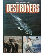 """ DESTROYERS ""    Anthony Preston  1977 1st Ed. HC/DJ - $12.50"