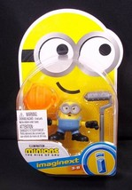 Imaginext Minions Rise of Gru Bob with Hard Hat & Roller NEW - $5.36