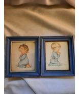 Set of Vintage Charlot Byi Signed Framed Prints From 1950's  - $45.00
