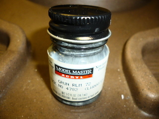 Primary image for L69 MODEL MASTER 4782 GRUN RLM 72  ACRYLLIC PAINT 1/2 FL OZ EACH NEW
