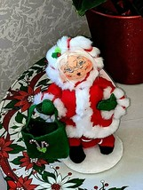 Annalee Christmas Dolls Santa Clause Mrs.Clause Peppermint Twist Collect... - $29.95