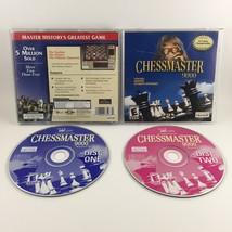 Chessmaster 9000 (PC, 2002) 2-Disc CD Set Ubisoft Jewel Case Complete CIB - $17.99