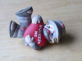 1991 Enesco Li'l Vagabond Squeeze Me Figurine  - $10.00