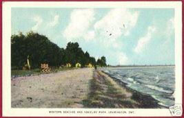 Leamington Ontario Western Beaches Sea Cliff Park 1949 - $6.00