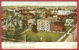 SEATTLE WA Residence View Street Scene UDB Postcard BJs - $7.95