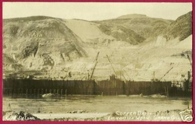 Primary image for GRAND COULEE DAM Washington Construction RP DeLong