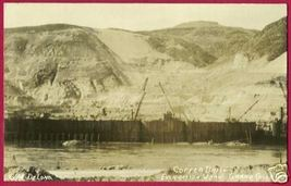 Grand Coulee Dam Washington Construction Rp De Long - $49.99