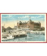 Old Point Comfort VA Postcard Hotel docks Boats '17 BJs - $7.50