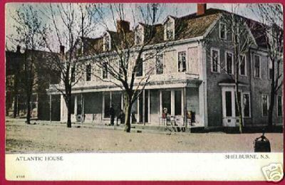 SHELBURNE NOVA SCOTIA Atlantic House 1907 NS