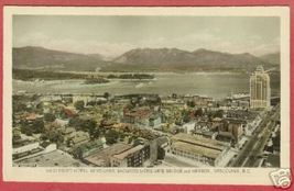 Vancouver BC Bridge Harbor Canada RPPC Postcard BJs - $7.50