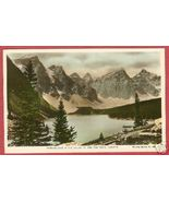 Moraine Lake Alberta Ten Peaks Spalding HC RPPC BJs - $7.00