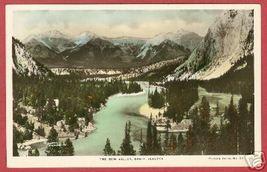 Banff Alberta Bow Valley Spalding HC RPPC Postcard - $7.00