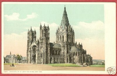 Primary image for NEW YORK NY Cathedral St John Divine Detroit Pub PC BJs