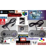 Retro Gaming Console System Similar Raspberry PI SNES N64 PSX GBA NES NEO PSP - $70.00