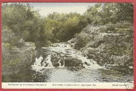 Ogunquit Me Maine Falls Josias River Hc Postcard B Js - $6.50