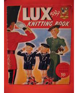 Vintage 1939 Lux Soap Knitting Book 54 Patterns Family - $24.99