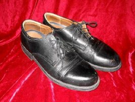 Mens Dockers Leather Black Dress Shoes Loafers 11M - $15.00