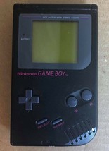 Black Nintendo Game Boy DMG-01 TESTED 4 Video Games Case Charger Nuby Light - $98.00
