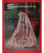 Vintage Spinnerin Knitting Crochet Patterns 17 Afghans  - $9.99