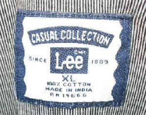 Mens Lee Causual Collection Polo Shirt XL Golf